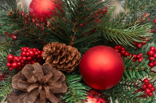 Рождество и новый год фон