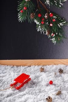 クリスマスと新年の装飾