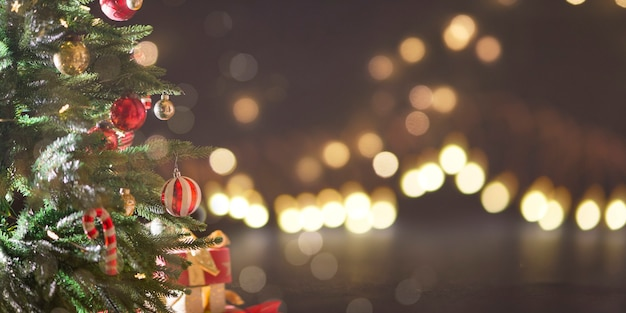Рождественские и новогодние праздники фон