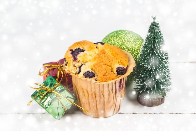 クリスマスと新年のケーキ