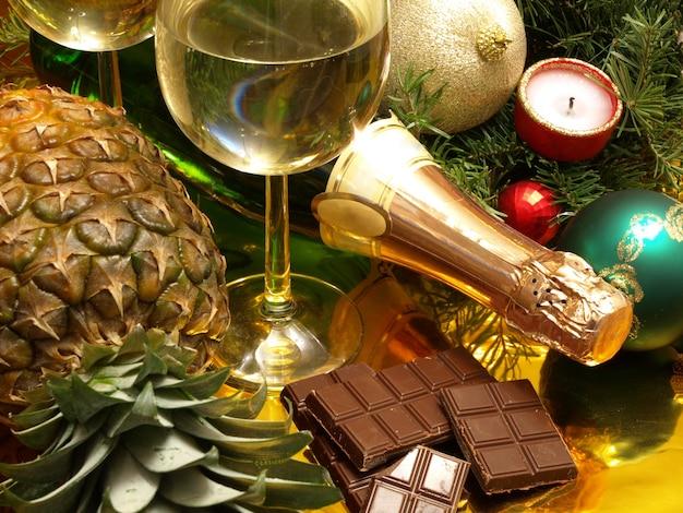 Рождество и новый год Premium Фотографии