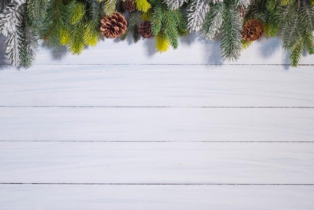 クリスマスと新年の背景。メリークリスマス