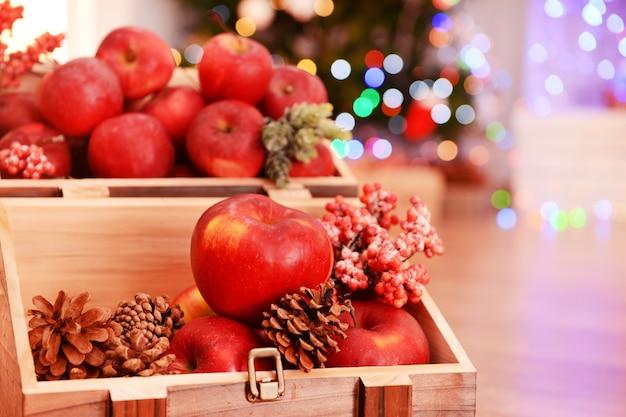 クリスマスのリンゴ