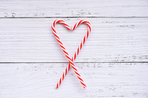 Christmas background christmas decoration with candy cane