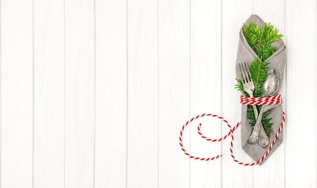 クリスマスの背景。お祭りの装飾