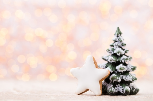 Christmas background, greeting card. xmas decoration.
