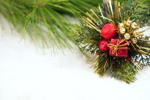 クリスマスの背景。グリーティングカード