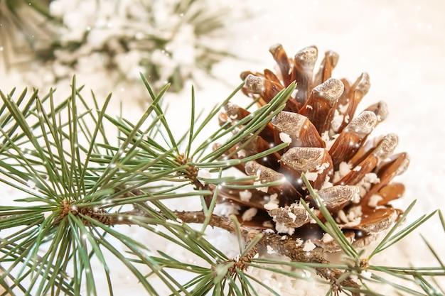 Рождественский фон. с новым годом. выборочный фокус праздник