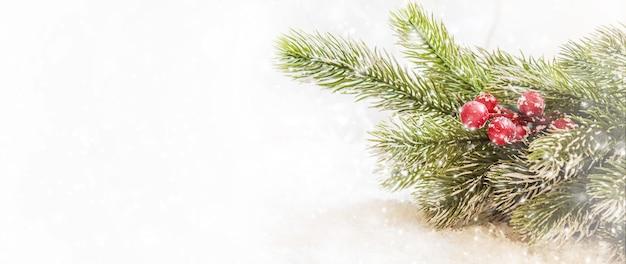 クリスマスの背景。明けましておめでとうございます。セレクティブフォーカスホリデー