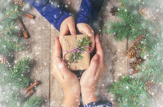Рождественские фон. с новым годом. селективный фокус