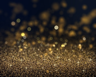 Christmas background of gold glitter