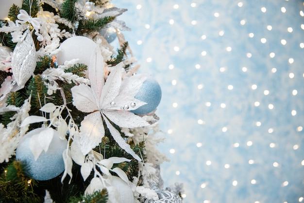あなたのテキストのコピースペースとクリスマスの背景
