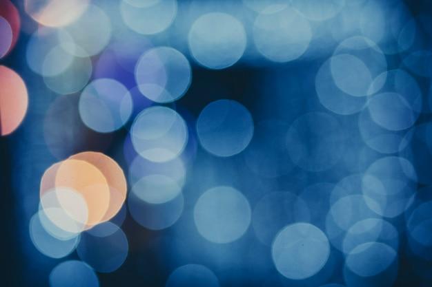 ライトとクリスマスの背景