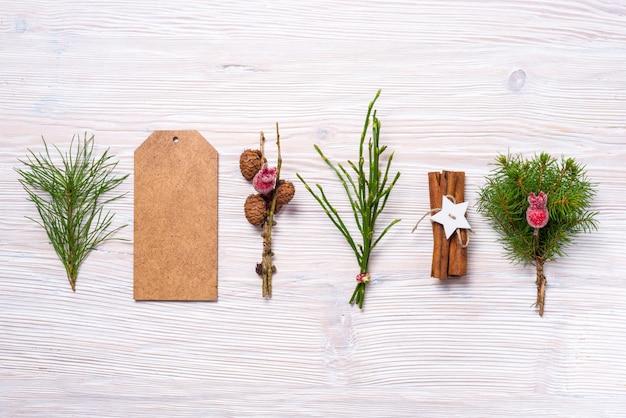 Новогодний фон, текстура древесины