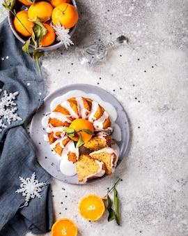 Christmas baking. cake