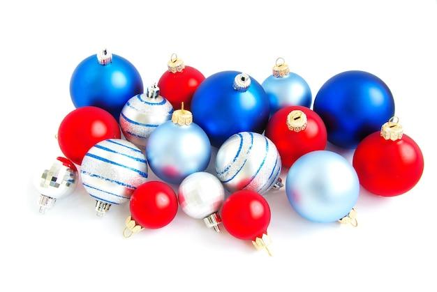 分離されたクリスマスボール