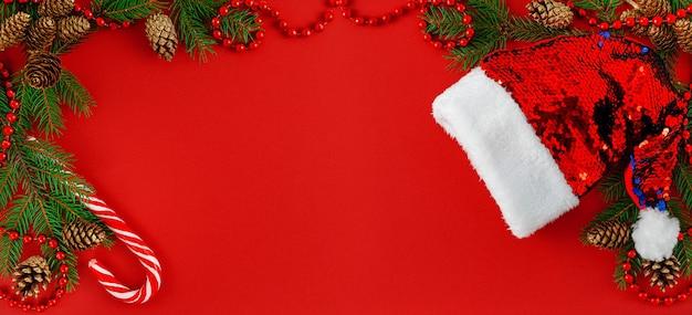 Рождественский фон баннера