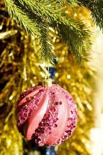 Christmas bauble, christmas-tree