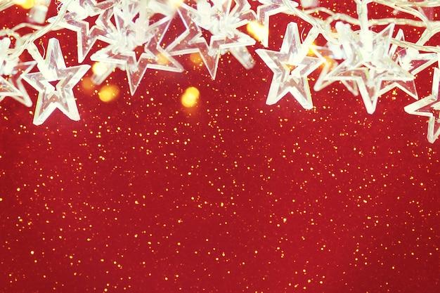 クリスマスのぼやけた背景