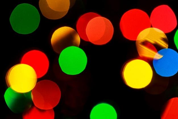 Рождественские боке фон огни
