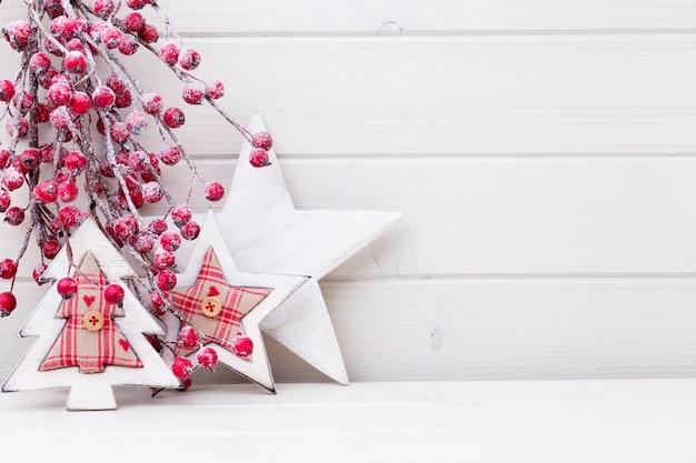 크리스마스 분기. 크리스마스 인사말 카드입니다. 기호 크리스마스.