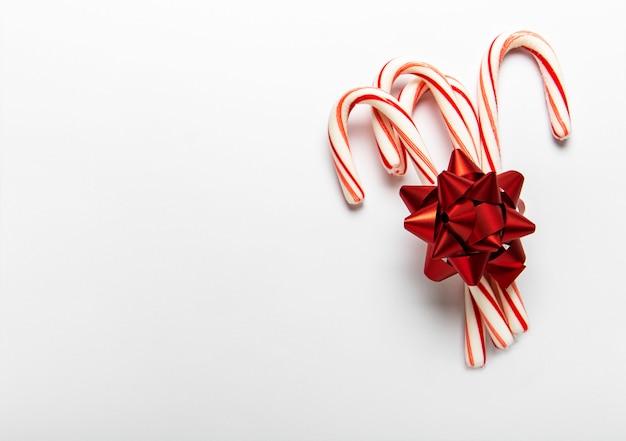 クリスマスキャンデー杖の背景
