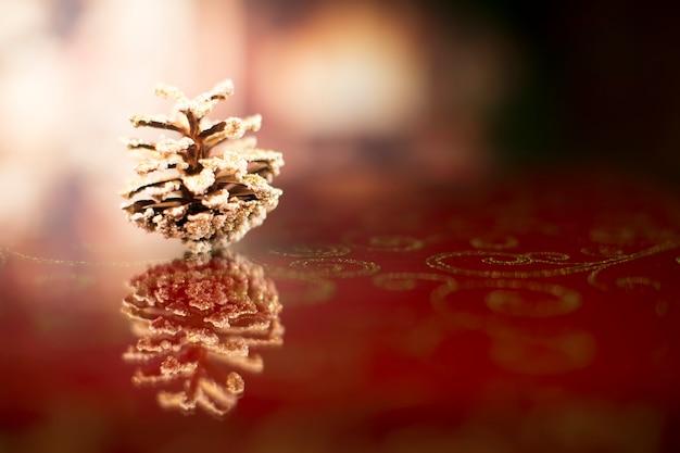 クリスマスカード新年の背景とボケ味のバンプ冬休みおめでとう冬はまだ