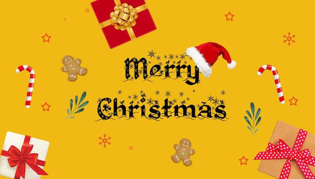 Christmas celebration texture composition