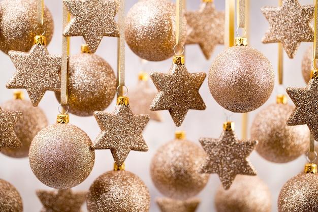 クリスマス。クリスマスの装飾とグリーティングカード。シンボルクリスマス。