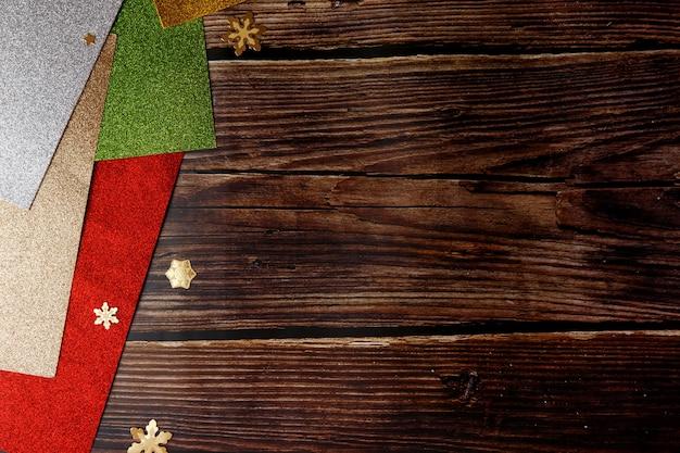 겨울 휴가 대 한 크리스마스 화려한 배경입니다. bokeh 및 선택적 초점.