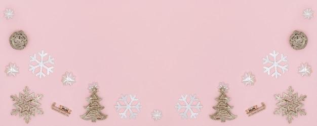 Рождественский фон композиции