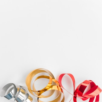 Christmas composition of colourful bands