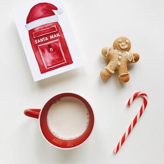 ミルクとクリスマス組成