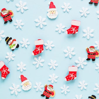 작은 수치와 크리스마스 컨셉