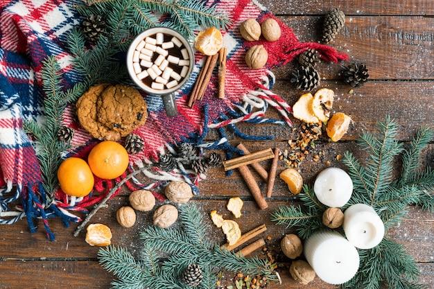 Рождество, состоящее из хвои