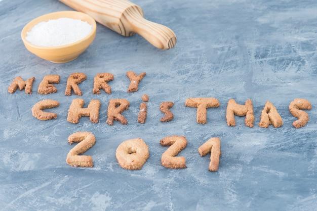 Рождественское печенье 2021 из пряников