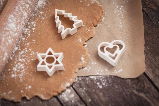 クリスマスクッキーはほぼ準備ができています