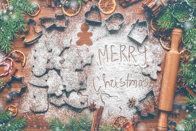 Christmas cookies are homemade