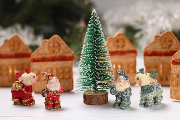 크리스마스 쿠키, 아이들을 위한 축제 크리스마스 휴일 간식