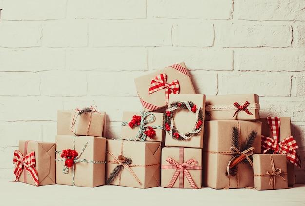 크리스마스 공예품 상자