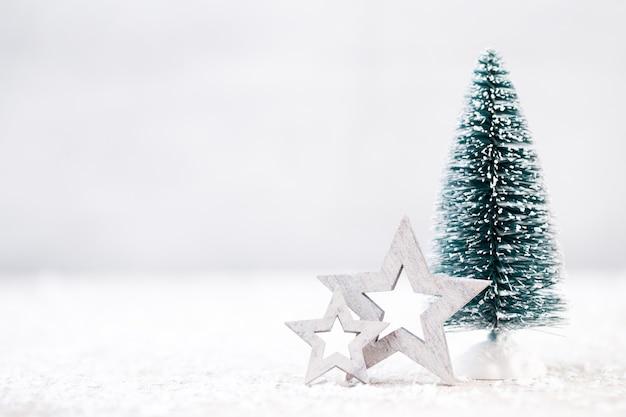 Рождественский декор. рождественская открытка. символ рождества.
