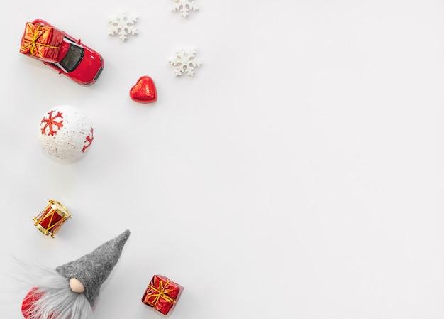 Рождественские украшения фон