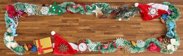 Christmas decoration, banner background