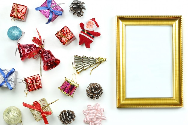 Christmas decoration equipment and photo frame.