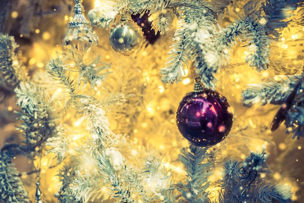 Christmas decoration ornament background