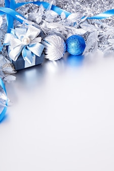 Christmas decoration with gift box