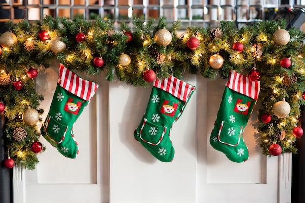 クリスマスの飾り、クリスマスの靴下