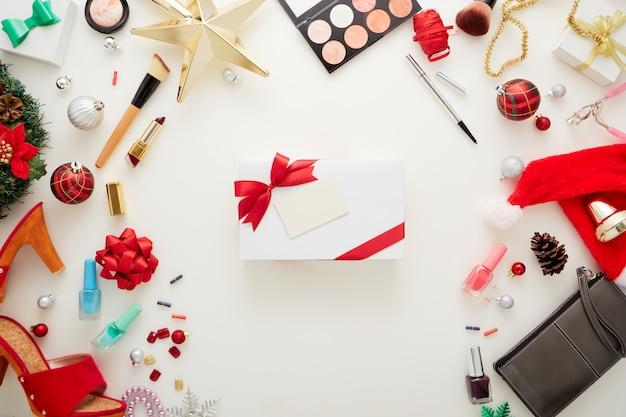 크리스마스 장식 선물 상자 및 액세서리 화장품