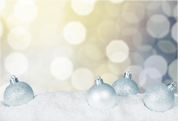 Christmas decorations isolated  on background