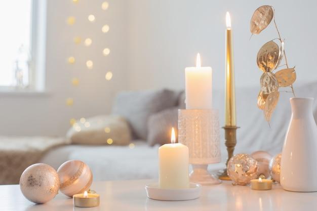 Елочные игрушки со свечами в домашних условиях
